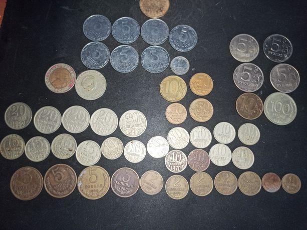 Коллекция монет (цена ваша)