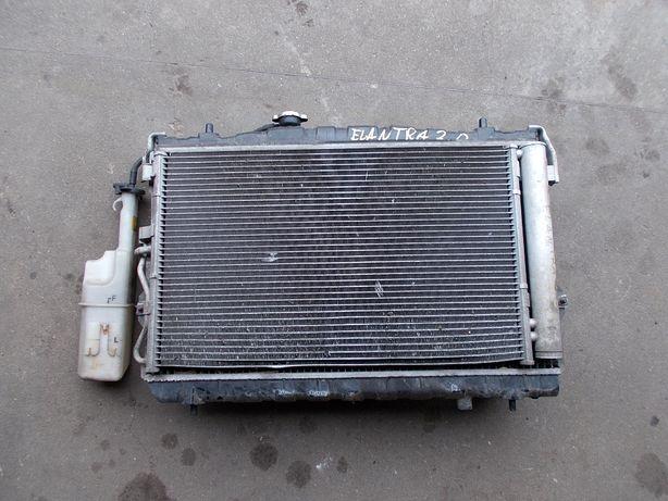 chłodnica wody klimatyzacji wentylator HYNDAI ELANTRA 2.0 G4GC 00-06r