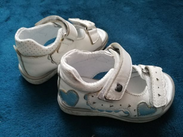 Sandały dziewczęce skórzane Lasocki rozmiar 20