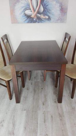 Drewniany stół + krzesła