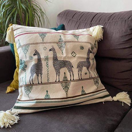 Poszewka na poduszkę 50x50 cm H&M boho prezent ozdoba dekoracja NOWA