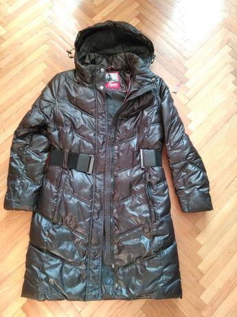 Куртка пальто (S/M, наш 44-46) р.38 на синтепоне.б/у