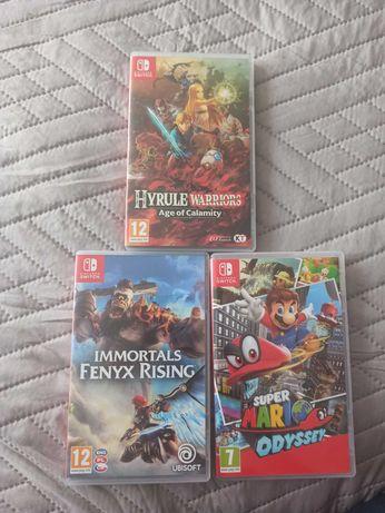 Gry Nintendo Switch (wymienię)