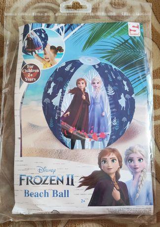 Piłka plażowa do dmuchania plażowa Elza Anna ELSA Frozen