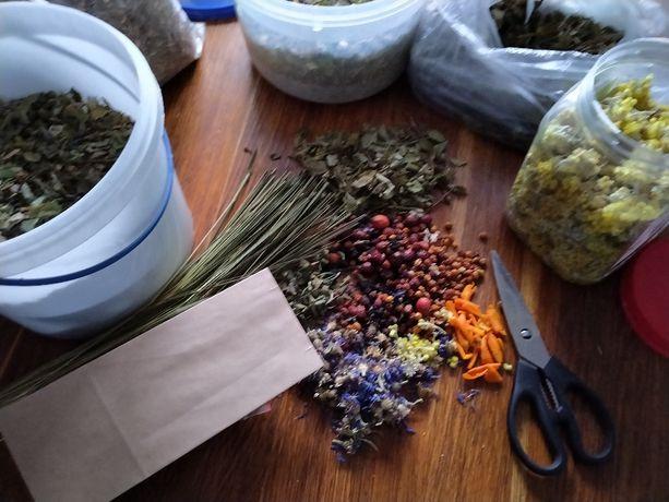 Екочай з лікарських трав, з ягодами, фруктами й відбірними спеціями