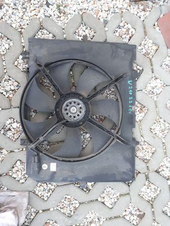 wentylator silnika mercedes w210 2.2 cdi
