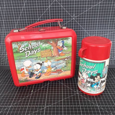 Lancheira Aladdín Walt Disney Productions made in USA lunch box