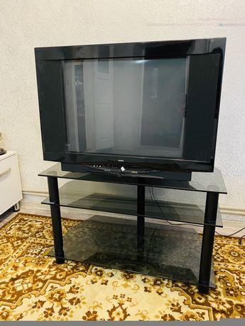 Продам телевизор и столик стеклянный