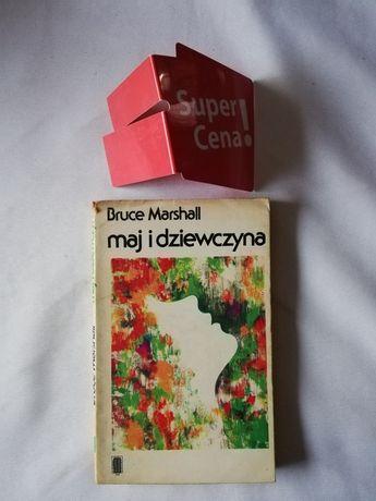 """książka """"maj i dziewczyna"""" Bruce Marshall BIAŁY KRUK"""