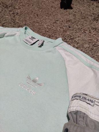 футболка Adidas originals белая