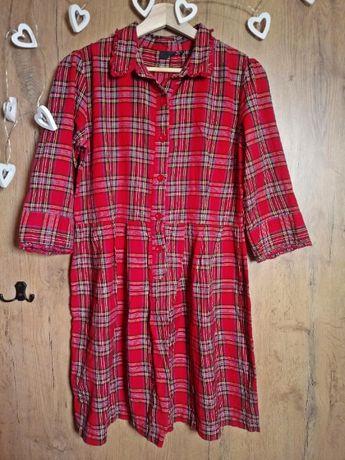 sukienka szkocka krata w kratę next XL XXL