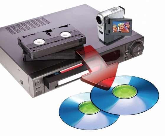 Оцифровка з відеокасет на диски або флешки