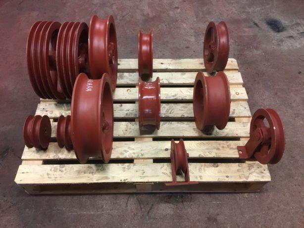 wyciąg obornika przekładnia zgarniacz koło linowe szufla