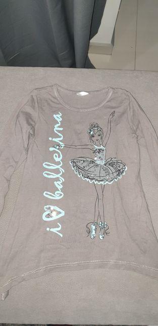 Długa bluzeczka balerina 104cm