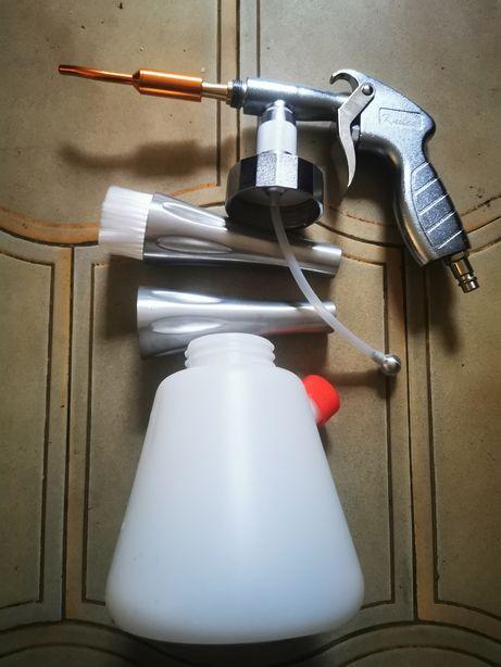 Tornador, pistola de limpeza