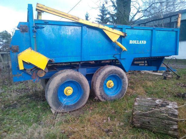 Rozrzutnik obornika Rolland 10 ton