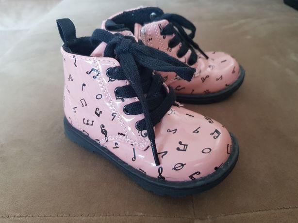 Buty dziewczęce feewear, jesień wiosna. Rozmiar 22
