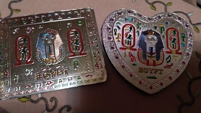 подарок из Египта магнит иероглифы сувенир