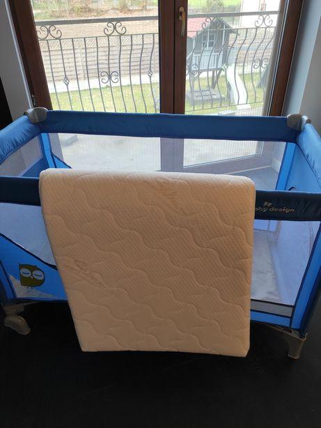 Materac turystyczny vitmat baby travel 120x60