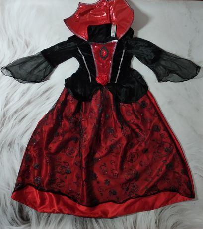 Карнавальное платье королевы / вампирши / на хелоуин