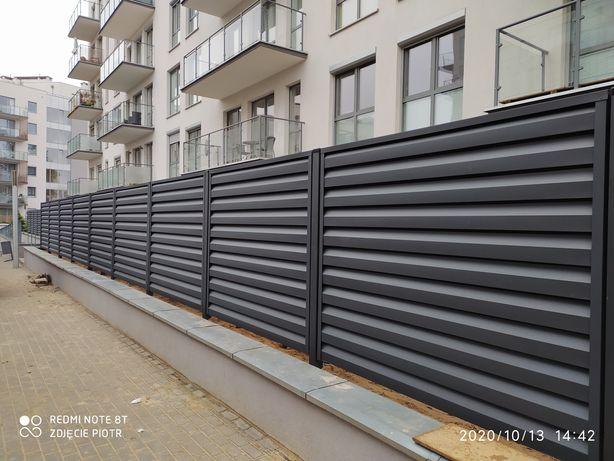 Ogrodzenia nowoczesne wiaty garażowe
