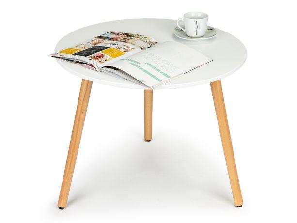 Stół stolik kawowy nowowczesny drewniany Jadalnia Salon 60cm # CT-003