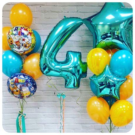 Гелиевые шарики,фонтаны из шаров,детские шарики
