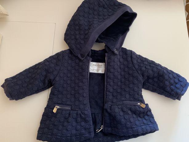 Casaco Mayoral bebé 1-3m -7€