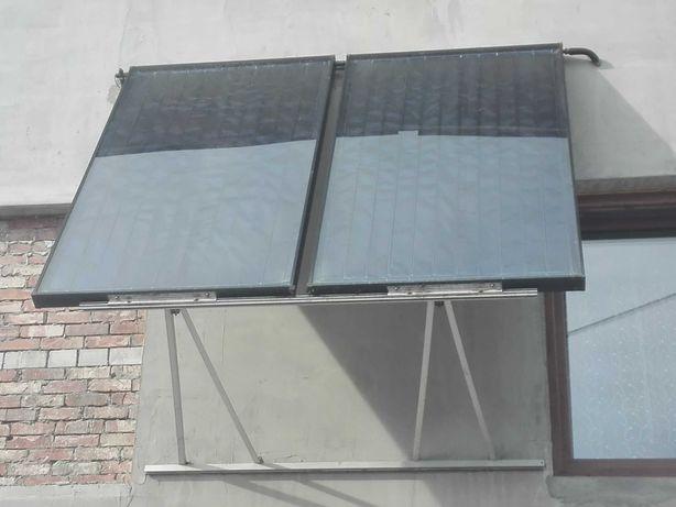 Kolektory słoneczne glikolowe, całoroczne