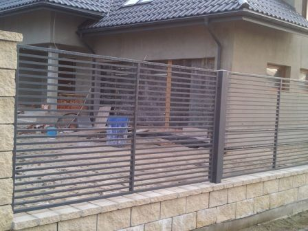 ART.STAL ogrodzenie nowoczesny wzór