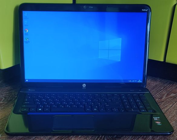 "Ноутбук 17,3"" HP QuadCore (2,8GHz) / 8Gb / 750Gb / HD 7670m (128Bit)"