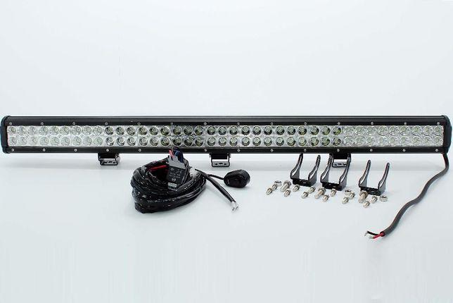 Barra Cree led 288 watt 28896F com 24480 lumens + KIT CABLAGEM