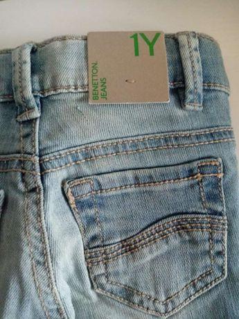 Spodnie dżinsowe Benetton