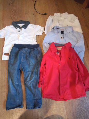Koszule, spodnie chłopięce