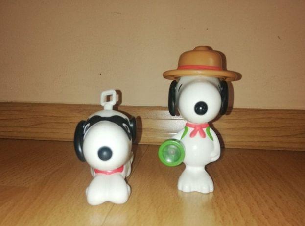 Pieski snoopy figurki