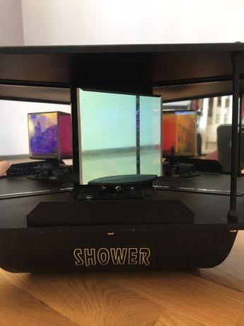 Световой прибор, светомузыка, динамо машина. Wizard Shower