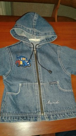 Джинсовая курточка ветровка