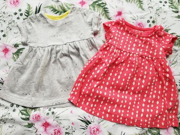 Sukienka, sukieneczka letnia, 0-3 miesięcy.