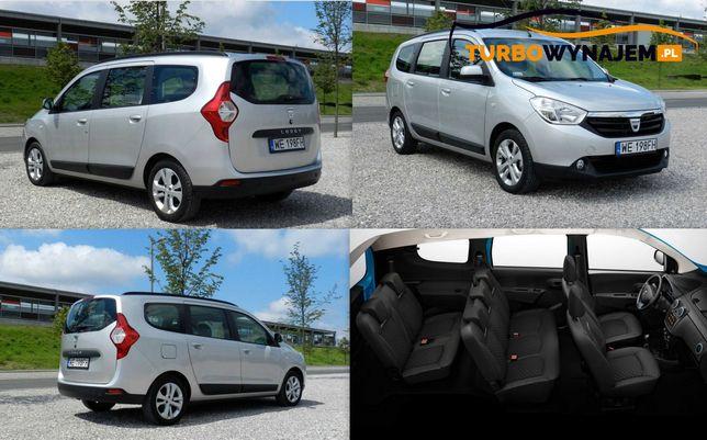Wynajem-Wypożyczalnia Busów Busa Van Aut Auta Dacia Lodgy 7 osobowa