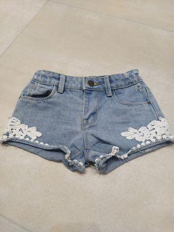 Spodenki jeansowe dla dziewczynki