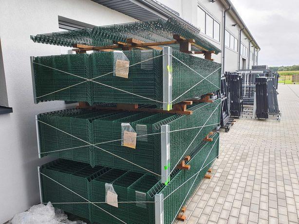 PROMOCJA!!! Panel ogrodzeniowy Wiśniowski 3D Vega B zielony RAL 6005