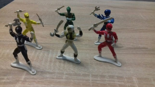 Power Rangers komplet