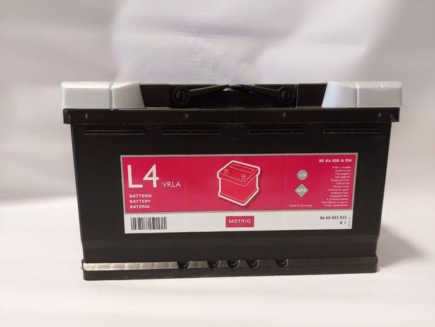 Akumulator RENAULT MOTRIO AGM 80Ah 800A start/stop