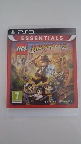 Gra oryginalna Lego Indiana Jones 2 PlayStation PS 3