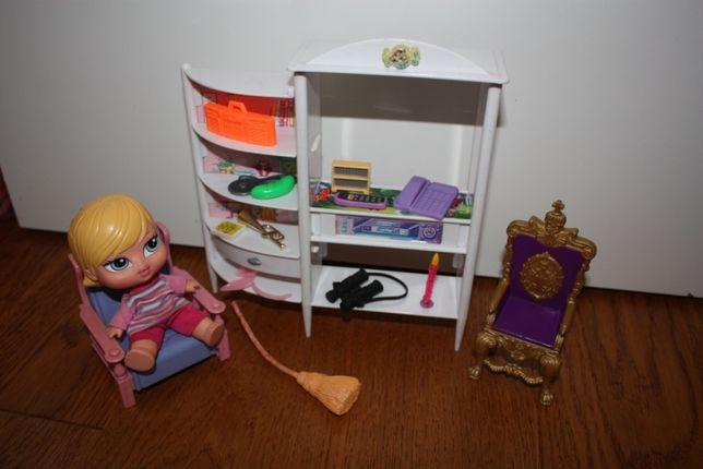 meble dla lalek - salon z akcesoriami