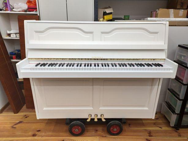 Zrób prezent na święta!!! Białe pianino z darmową dostawą