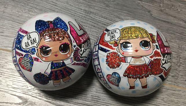 Оригинал Шар LOL Кукла Лол Чарлидеры 2-я серия All Star BBs Cheer Tea