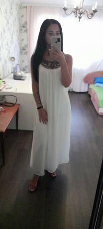 Продам платье в греческом стиле свадебное вечернее белое