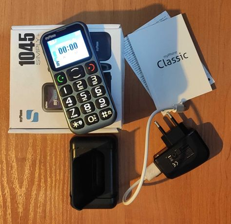 Telefon komórkowy MyPhone 1045 simply + seniora senior my phone