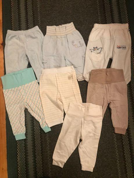 Spodnie getry rozm.68